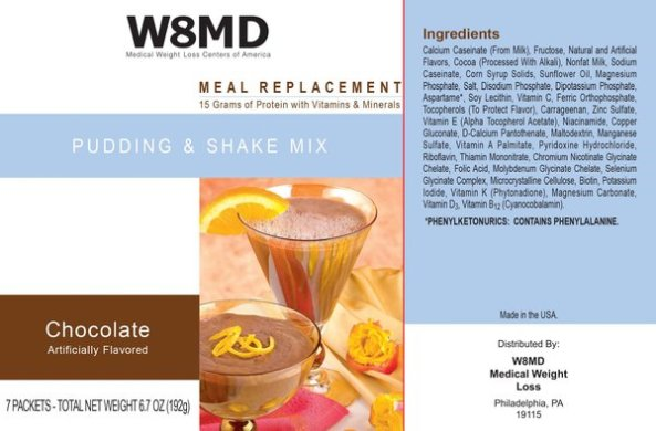 W8MD meal replacement low calorie diets