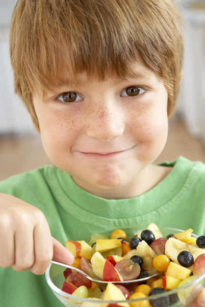 healthy eating child